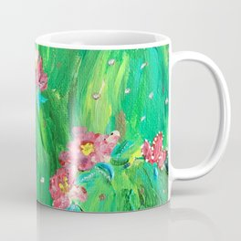 Flowering Prickly Pear Cacus Coffee Mug