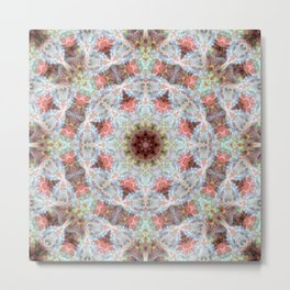 Space Mandala no5 Metal Print