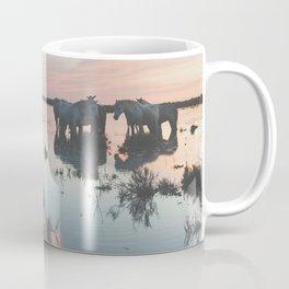 Camargue Horses IV Coffee Mug