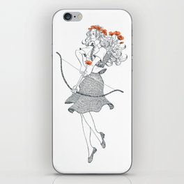 The Poppy (April 20 - May 20) iPhone Skin