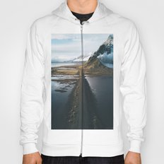 Mountain road in Iceland - Landscape Photography Hoody