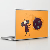 katamari Laptop & iPad Skins featuring Katamari of the Dead by Hector Mansilla