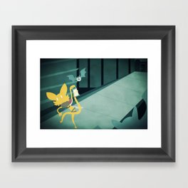 The Dark Dungeon Framed Art Print