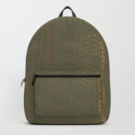 Army Burlap Backpack