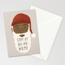 """""""Stay at Ho-Ho-Home"""" by Madeline Martinez Stationery Cards"""
