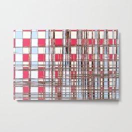 Abstract Coleus Metal Print
