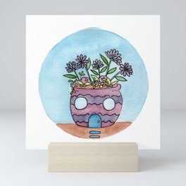In The Garden: September Mini Art Print
