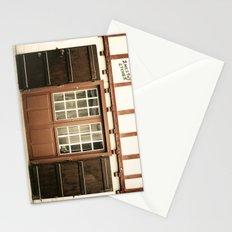 puerta roja Stationery Cards