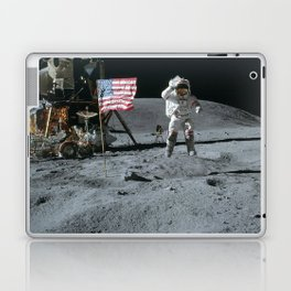 Apollo 16 - Astronaut Moon Jump Laptop & iPad Skin