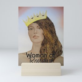 Woman of Royalty Mini Art Print