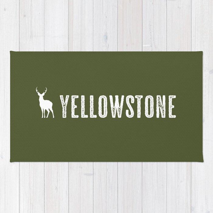 Deer: Yellowstone Rug