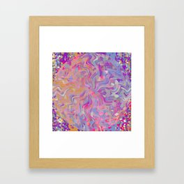 Electrified Crystal Ball Framed Art Print