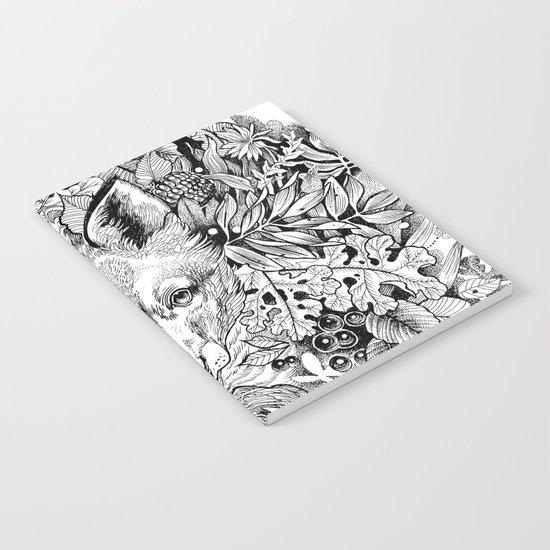 hidden fox Notebook