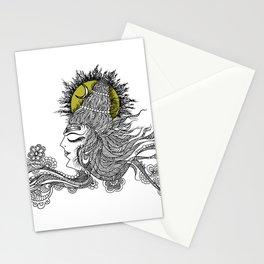 Shiva Moon Stationery Cards