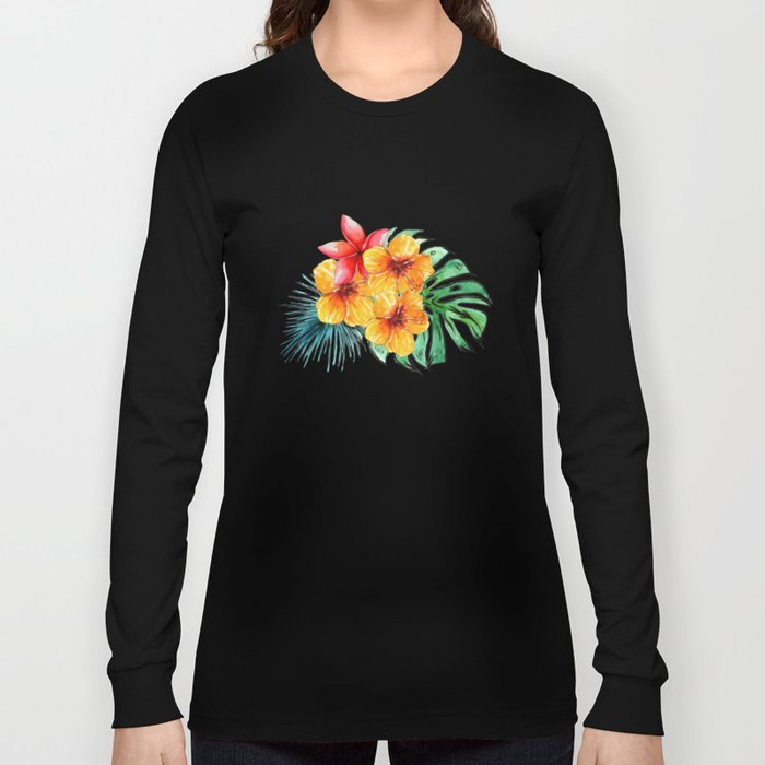 My Tropical Garden Long Sleeve T-shirt