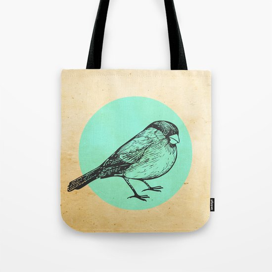 Spotted bird Tote Bag