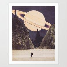 'Envisage Heliocentric' Art Print