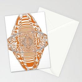 Longhorn Orange Stationery Cards