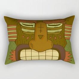 Cool Monster face Rectangular Pillow