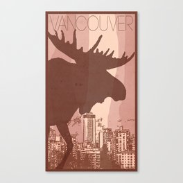Every City Has Its Creature -Vancouver  Canvas Print