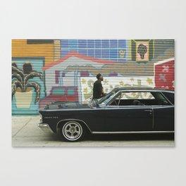 Motor City Canvas Print
