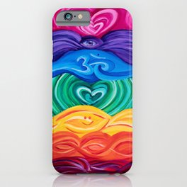 Chakra Art 2 iPhone Case