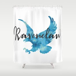 Ravenclaw Hogwarts House Pride Shower Curtain