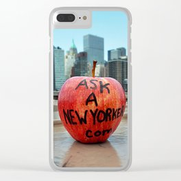 Ask a New Yorker Clear iPhone Case