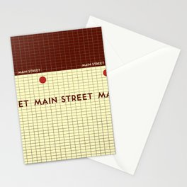 MAIN STREET | Subway Station Stationery Cards