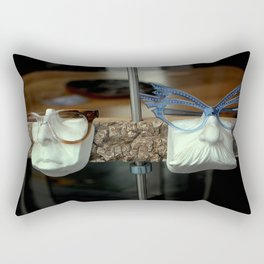The Brown Nose - Feeling Blue Rectangular Pillow