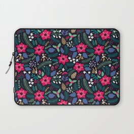 Seamless Floral Pattern Laptop Sleeve