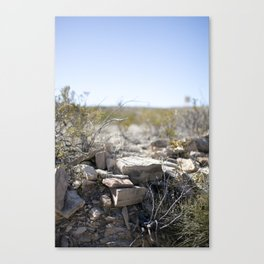 Terlingua Texas I Canvas Print
