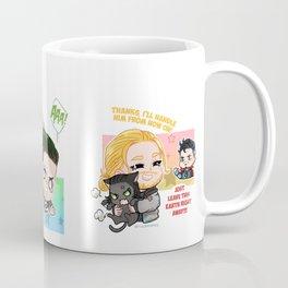 Falling Loki Coffee Mug