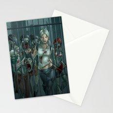 Zombie Slayer Stationery Cards