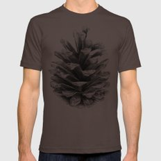 Pine Cone LARGE Brown Mens Fitted Tee