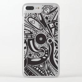#doodles Clear iPhone Case