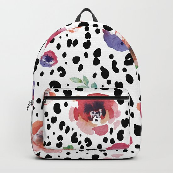 Abstract animal flowers Backpack