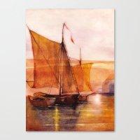 sail Canvas Prints featuring Sail by Iris V.
