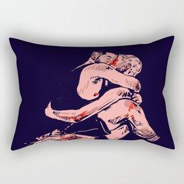 In your arms Rectangular Pillow