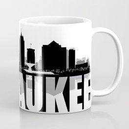 Milwaukee Silhouette Skyline Coffee Mug