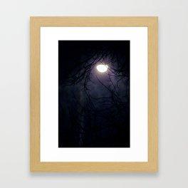 Snowfall 1 Framed Art Print