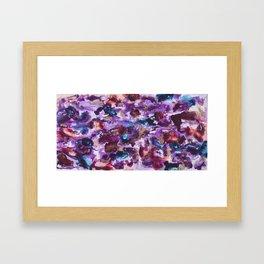 """""""Spilled Cabernet"""" Framed Art Print"""