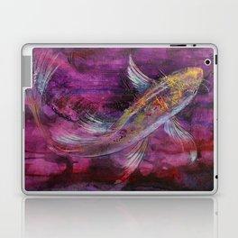 Aubergine Koi Laptop & iPad Skin
