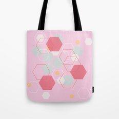 Hexagon Sweetarts Tote Bag