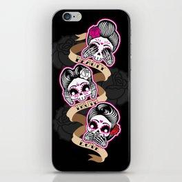 Wise Skulls iPhone Skin