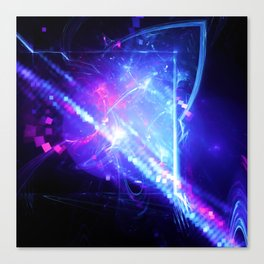 Gravitational Lensing Canvas Print