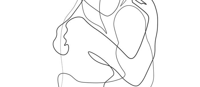 Mug Minimal Lovers Drawing Line Coffee MLUzpSVGq