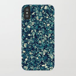 Pebbles in Blueish iPhone Case