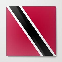 Trinidad and Tobago flag emblem Metal Print