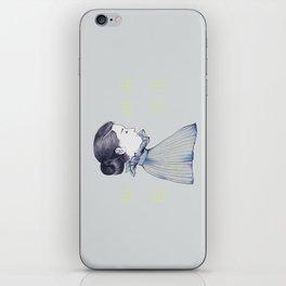 dance me through the dark iPhone Skin